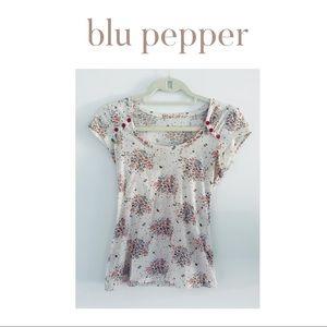 blu pepper top